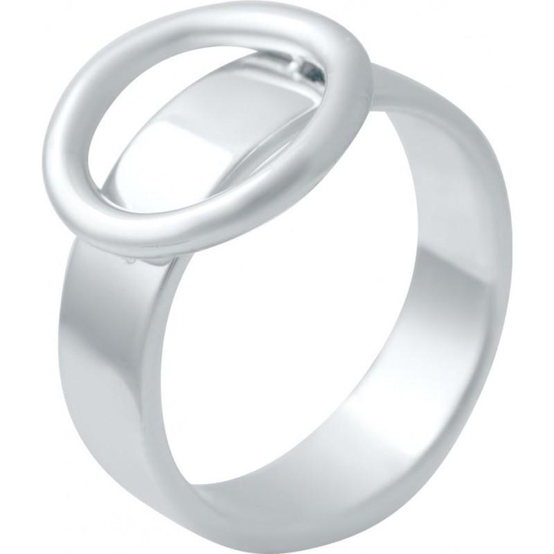 Серебряное кольцо SilverBreeze без камней (2016434) 18 размер