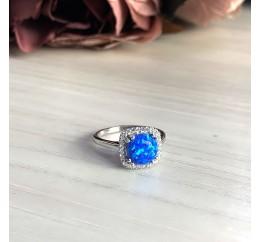 Серебряное кольцо SilverBreeze с опалом (2024293) 17 размер