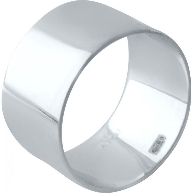 Серебряное кольцо SilverBreeze без камней (2029519) 17.5 размер