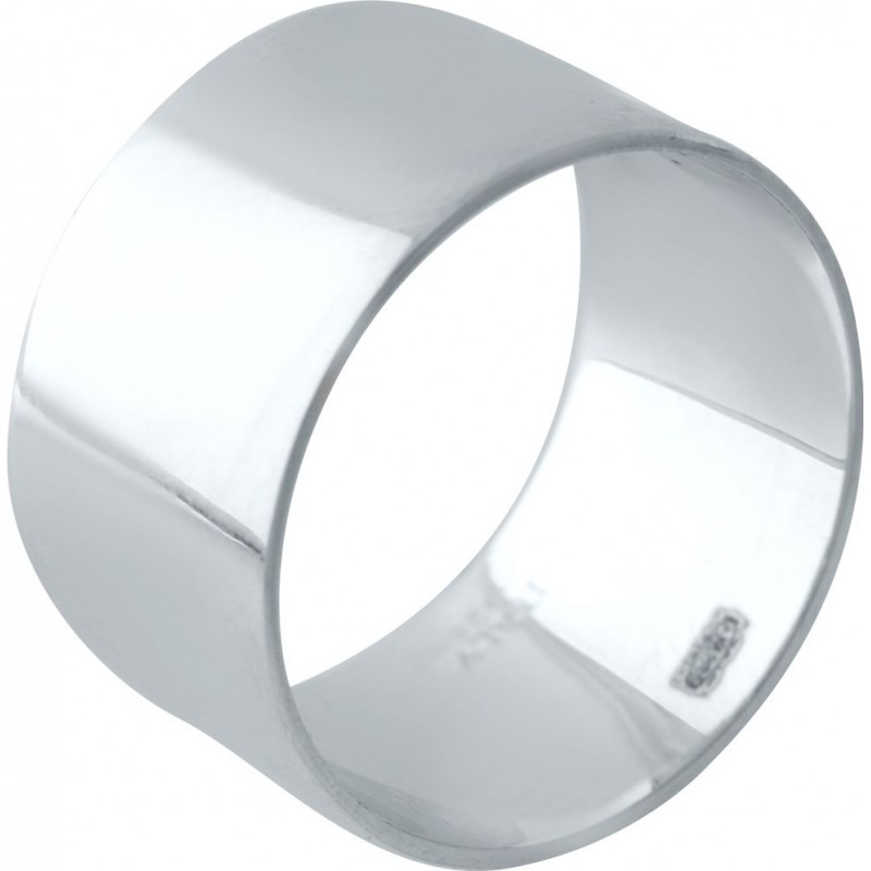 Серебряное кольцо SilverBreeze без камней (2029519) 17 размер
