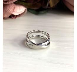 Серебряное кольцо SilverBreeze без камней (2029526) 18.5 размер