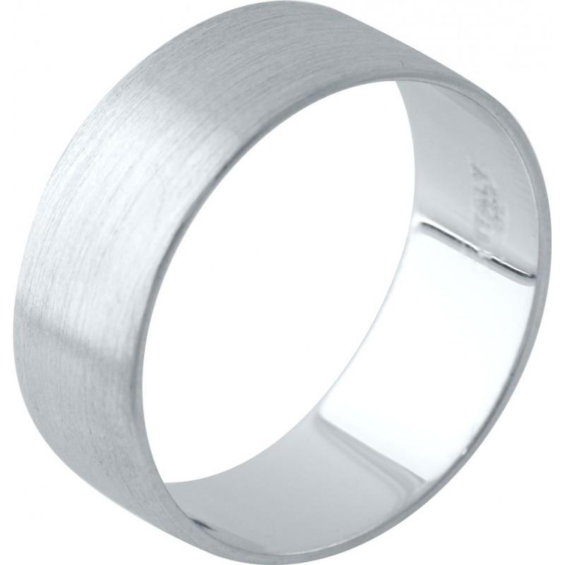 Серебряное кольцо SilverBreeze без камней (2029533) 17 размер