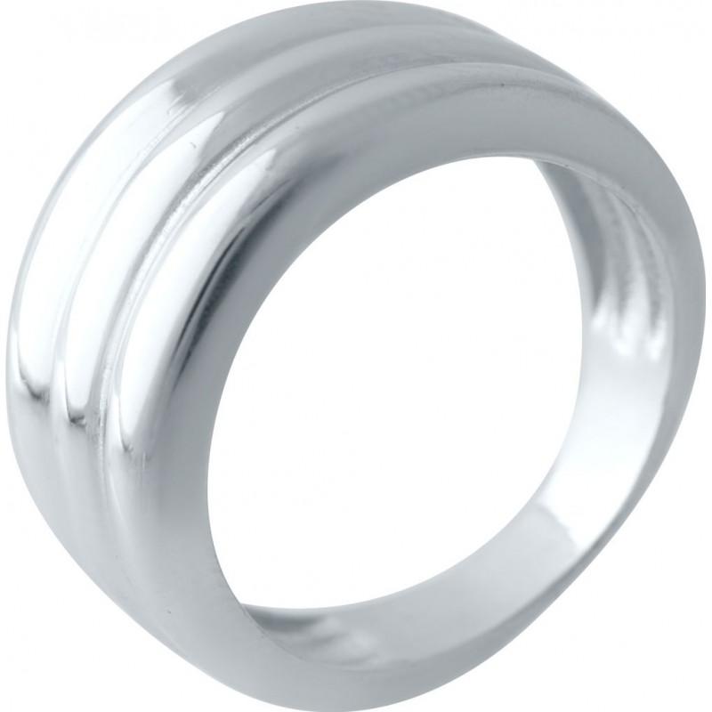 Серебряное кольцо SilverBreeze без камней (2029571) 17.5 размер