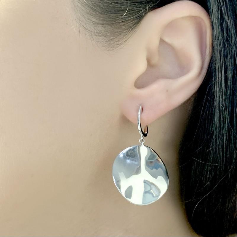 Серебряные серьги SilverBreeze без камней (2031079)