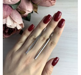 Серебряные серьги SilverBreeze без камней (2031239)