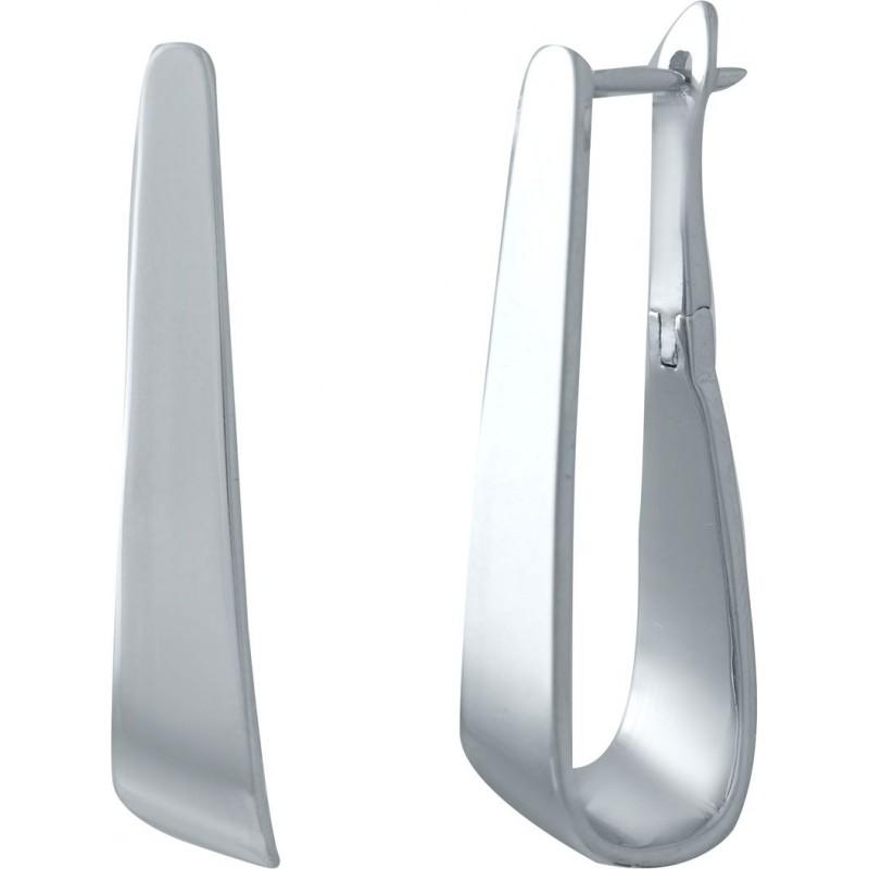 Серебряные серьги SilverBreeze без камней (2031277)