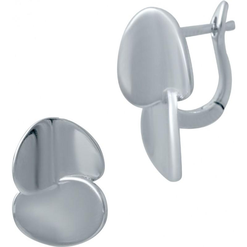 Серебряные серьги SilverBreeze без камней (2031284)