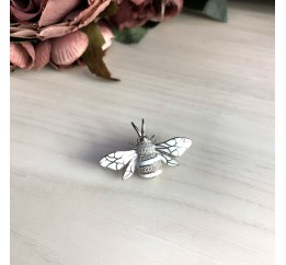 Серебряная брошка SilverBreeze с емаллю (2031314)