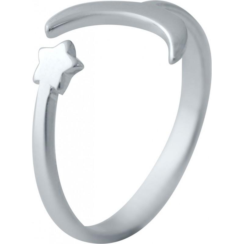 Серебряное кольцо SilverBreeze без камней (2044925) 18 размер