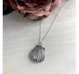 Серебряное колье SilverBreeze без камней (2038511) 450 размер