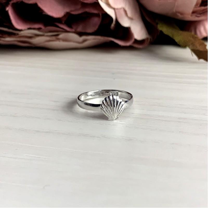 Серебряное кольцо SilverBreeze без камней (2038627) 16.5 размер