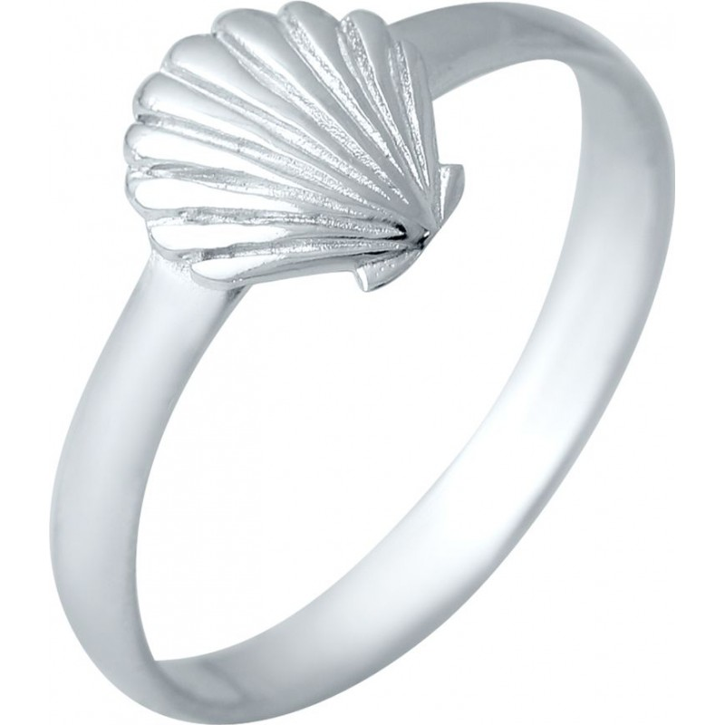 Серебряное кольцо SilverBreeze без камней (2038627) 17 размер