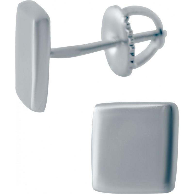 Серебряные серьги SilverBreeze без камней (2042082)