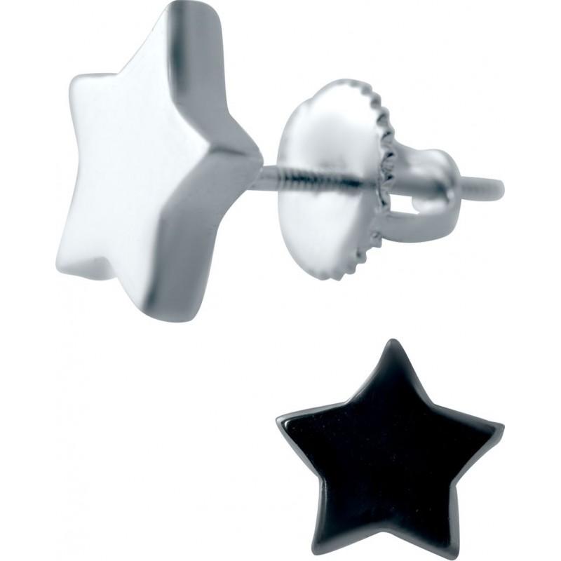 Серебряные серьги SilverBreeze без камней (2042013)
