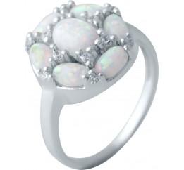 Серебряное кольцо SilverBreeze с опалом (2040538) 18.5 размер