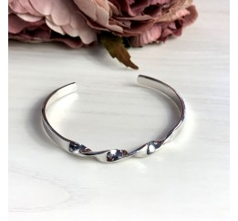 Серебряный браслет SilverBreeze без камней (2038573) Регулируемый размер