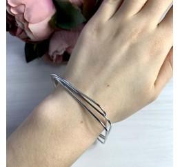Серебряный браслет SilverBreeze без камней (2038566) 19 размер