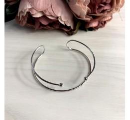 Серебряный браслет SilverBreeze без камней (2038559) Регулируемый размер