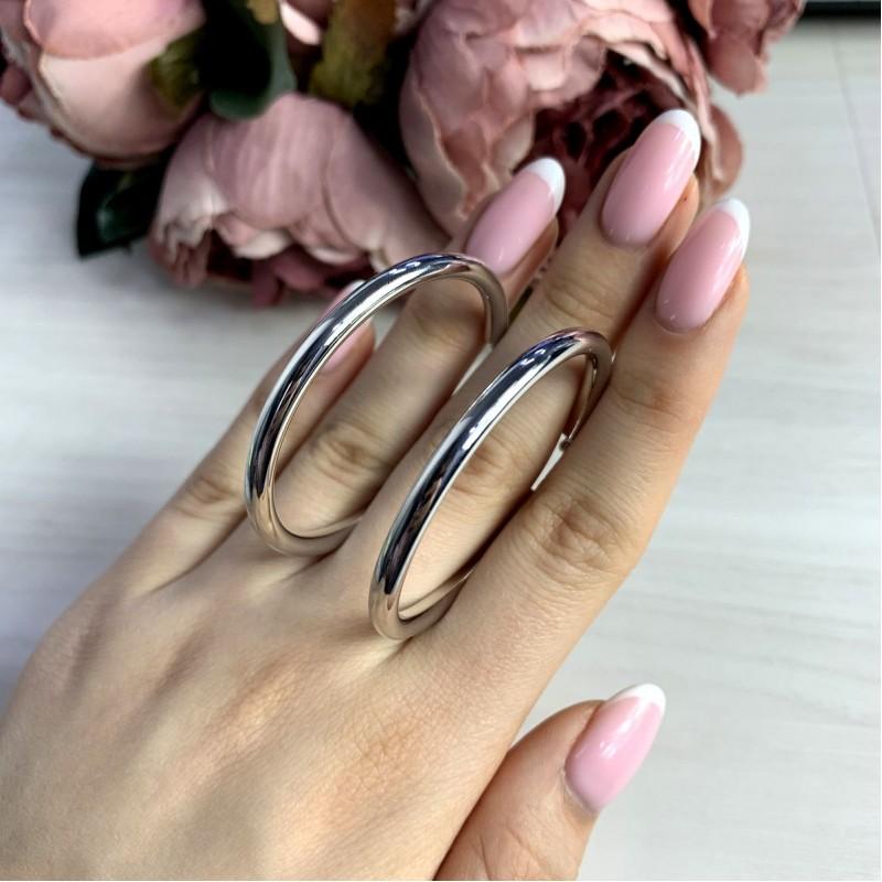 Серебряные серьги SilverBreeze без камней (2038542)