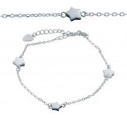Серебряный браслет SilverBreeze с натуральным перламутром (2037347) 1720 размер