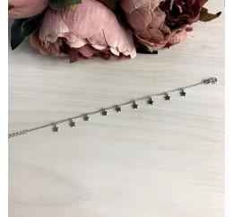 Серебряный браслет SilverBreeze без камней (2037323) 1720 размер