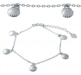 Серебряный браслет SilverBreeze без камней (2037194) 1720 размер