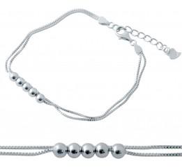Серебряный браслет SilverBreeze без камней (2037101) 1720 размер