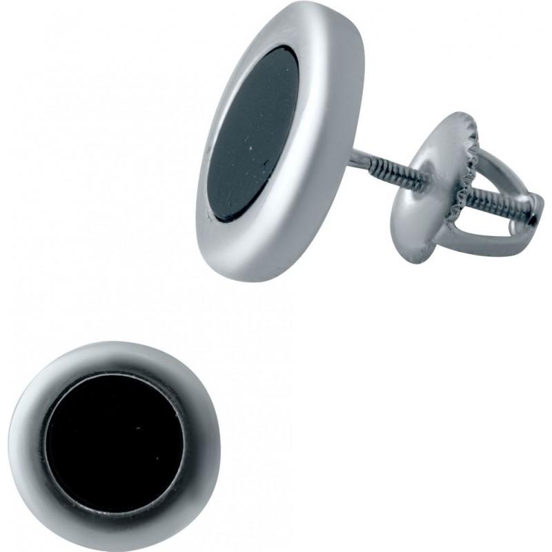 Серебряные серьги SilverBreeze с емаллю (2037095)
