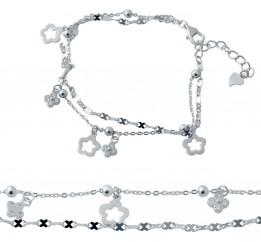 Серебряный браслет SilverBreeze без камней (2037088) 1720 размер