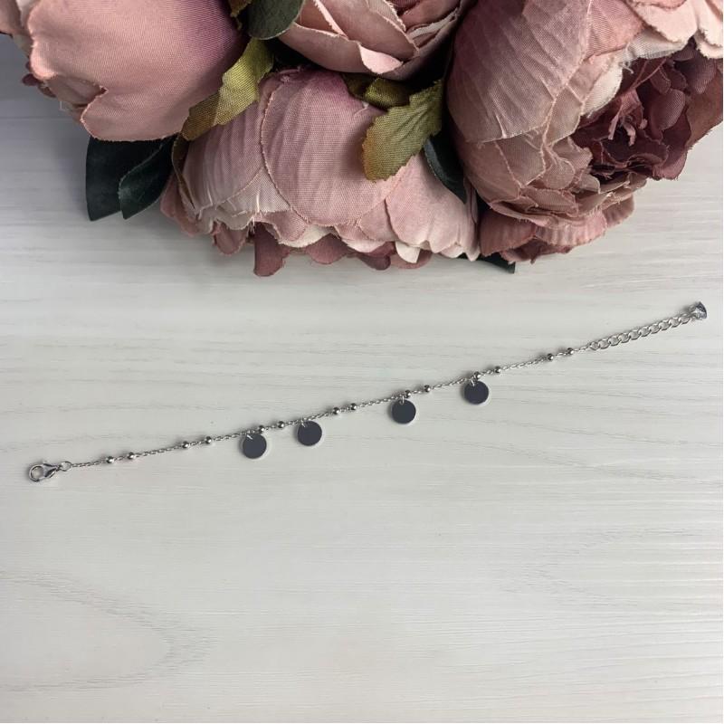 Серебряный браслет SilverBreeze без камней (2037064) 1720 размер