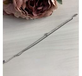Серебряный браслет SilverBreeze с фианитами (2036944) 1720 размер