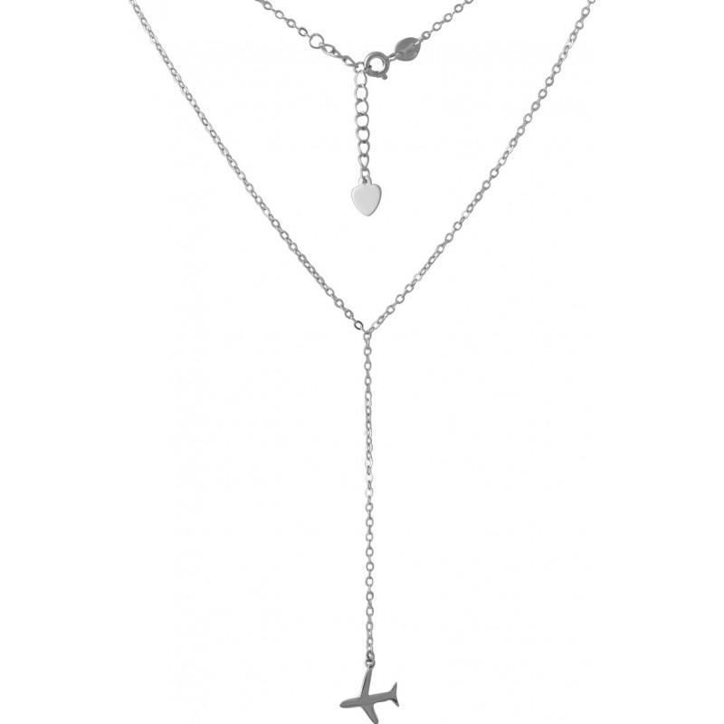 Серебряное колье SilverBreeze без камней (2044444) 5760 размер