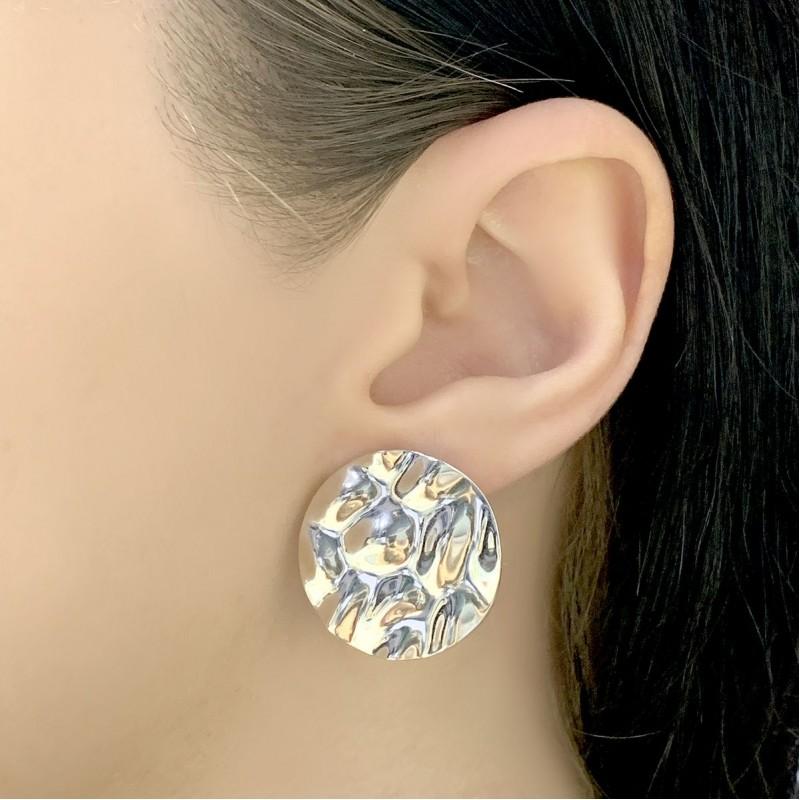 Серебряные серьги SilverBreeze без камней (2044581)