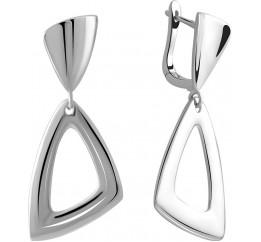Серебряные серьги SilverBreeze без камней (2005278)