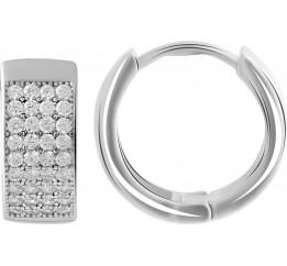 Серебряные серьги SilverBreeze с  (2045762)