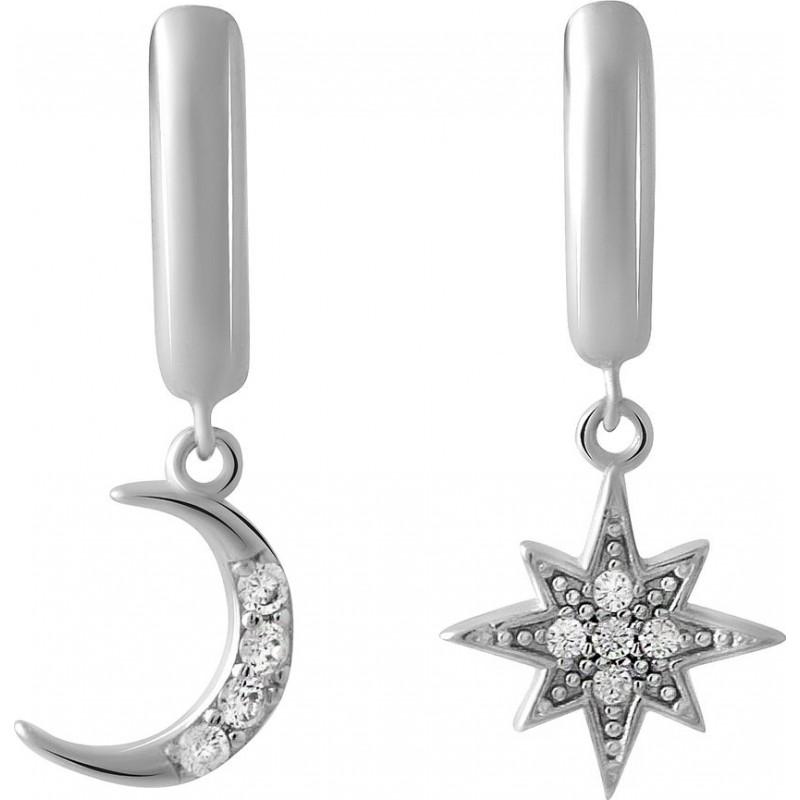 Серебряные серьги SilverBreeze с  (2045809)