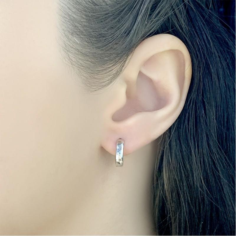 Серебряные серьги SilverBreeze без камней (2045847)