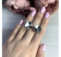 Серебряные серьги SilverBreeze без камней (2005544)