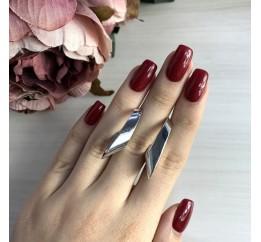 Серебряные серьги SilverBreeze без камней (2031024)