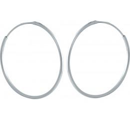 Серебряные серьги SilverBreeze без камней (1982198)