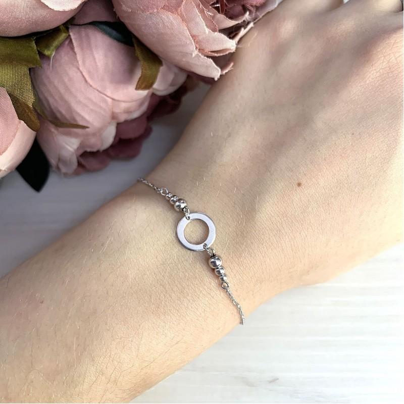 Серебряный браслет SilverBreeze без камней (2014423) 1720 размер