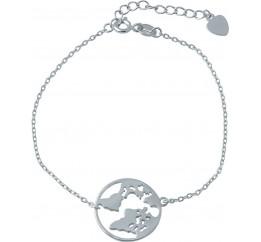Серебряный браслет SilverBreeze без камней (2005704) 1720 размер