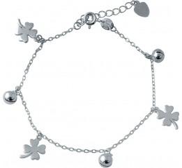 Серебряный браслет SilverBreeze без камней (2005728) 1720 размер