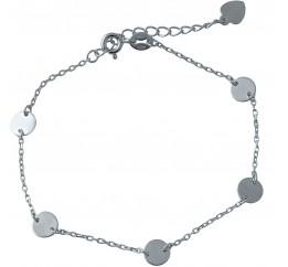Серебряный браслет SilverBreeze без камней (2005735) 1720 размер