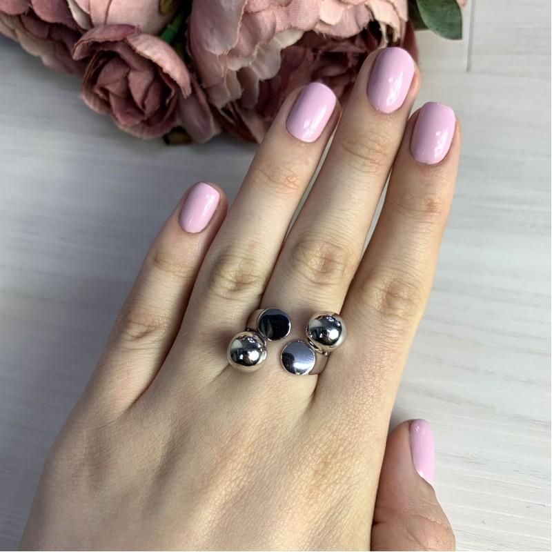 Серебряное кольцо SilverBreeze без камней (2046929) 18.5 размер
