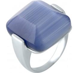 Серебряное кольцо SilverBreeze с кошачим глазом (1955505) 17.5 размер