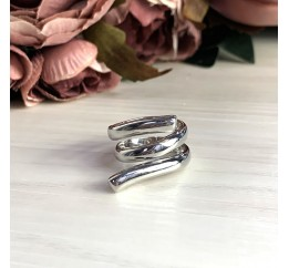 Серебряное кольцо SilverBreeze без камней (2031604) 16.5 размер