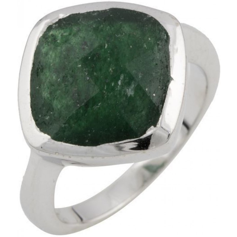 Серебряное кольцо SilverBreeze с натуральным авантюрином (1087039) 16.5 размер