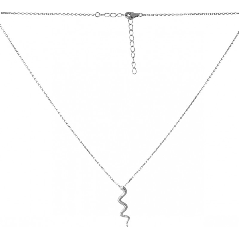 Серебряное колье SilverBreeze без камней (2067627) 450500 размер