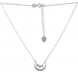 Серебряное колье SilverBreeze без камней (2053040) 450500 размер